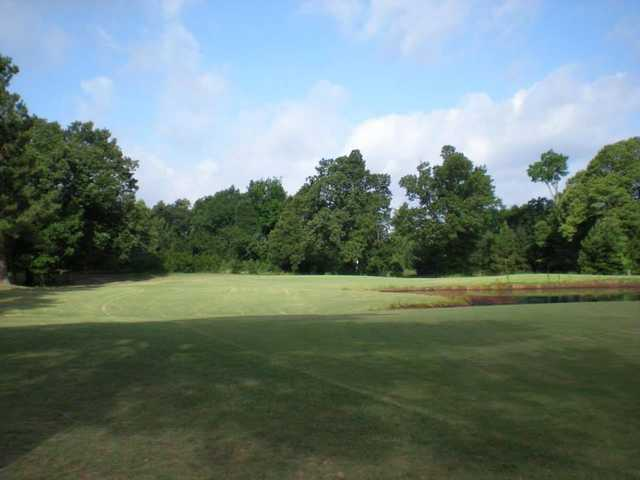 A view of hole #4 at Clarksville Country Club.