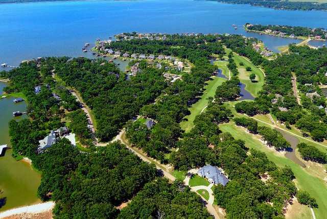Aerial view from Pinnacle Club