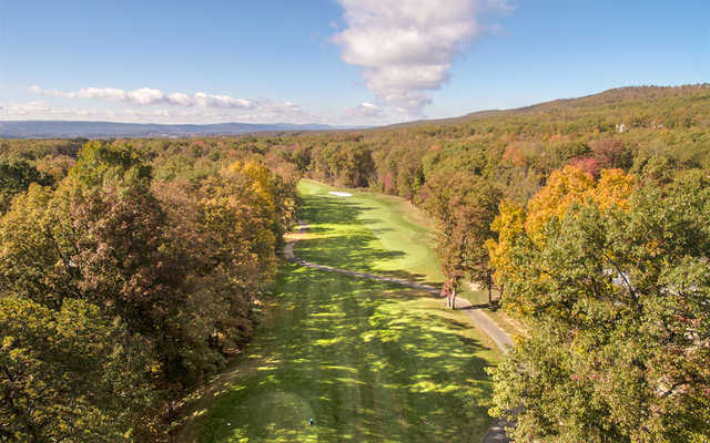 Aerial view from Sand Springs Golf Course