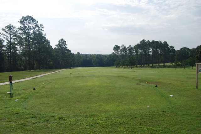 A view from a tee at Jasper Country Club.