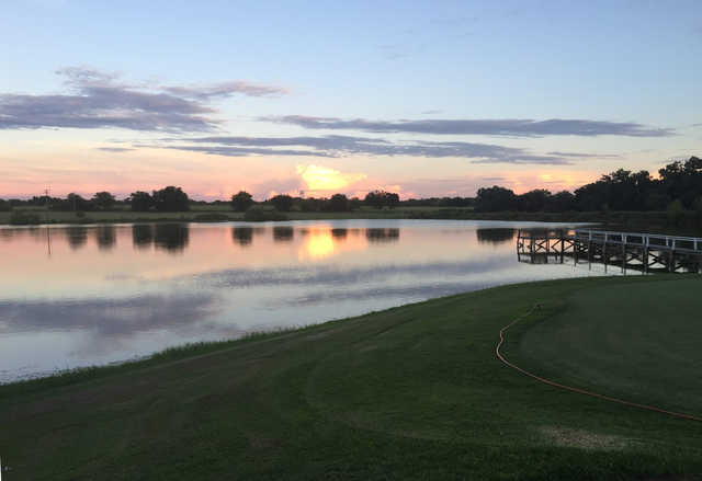 A sunset view from Marlin Country Club.