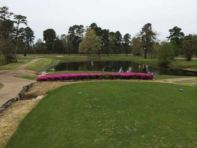 A view from a tee at Marshall Lakeside Country Club.