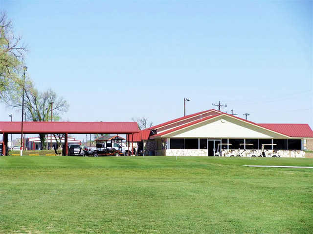 A view of the pro shop at Sunset Country Club.