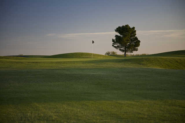 A view of a green at Ratliff Ranch Golf Links.