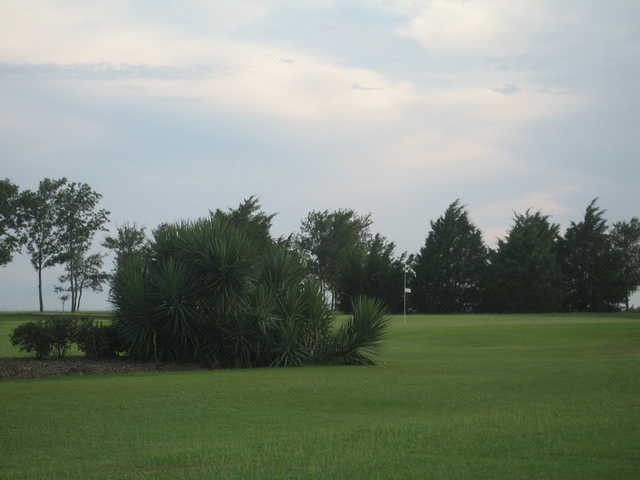 A view of green at Stone River Golf Club