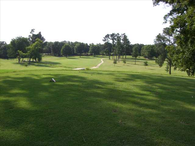 A view of a fairway at Paris Golf & Country Club.
