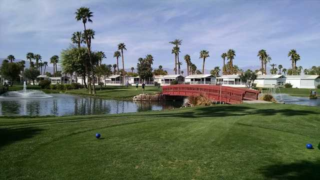 A view from the 16th tee at Rancho Casa Blanca Country Club.
