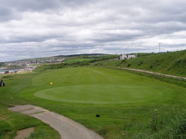 A view of the 3rd green at Cullen Golf Club