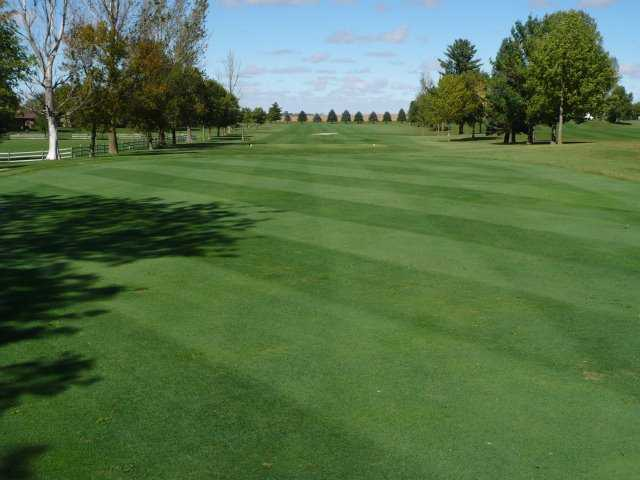 A view of fairway #3 at Belmond Country Club.