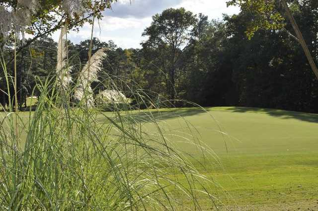 A view of hole #17 at Legacy Pines Golf Club