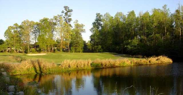 A view of the 17th hole at Lakewood Links