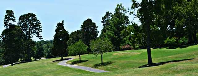 A view from Rockwood Golf Course.
