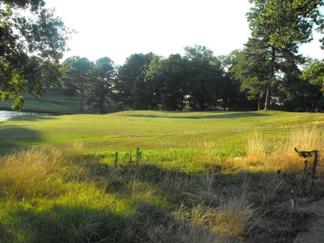 A view of a fairway at Persimmon Hills Golf Course.