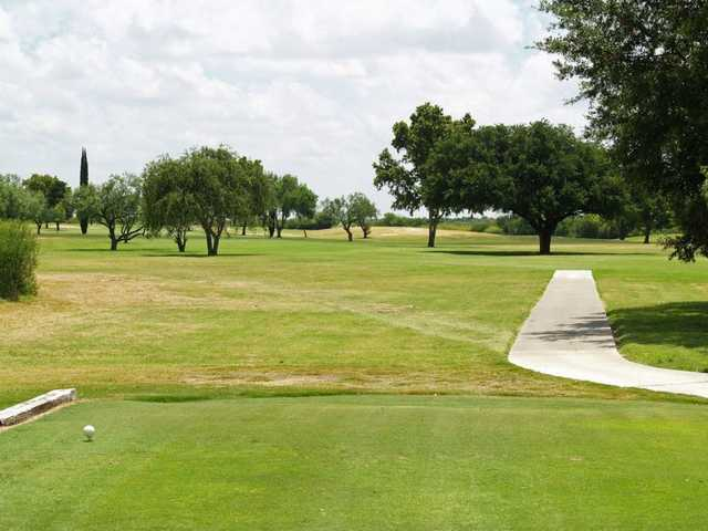 A view from the 4th tee at Leaning Pine Golf Course.