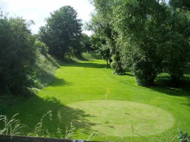 Looking back from the 16th green at West Park Golf Centre