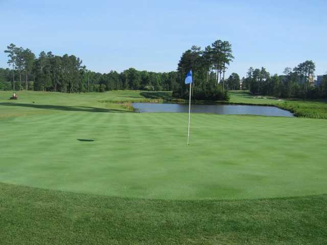 A view of hole #15 at UNC Finley Golf Course