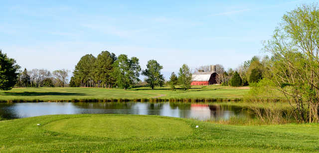 A view over the water from Farmville Golf Course.