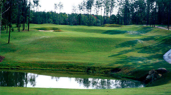 A view from Neuse Golf Club