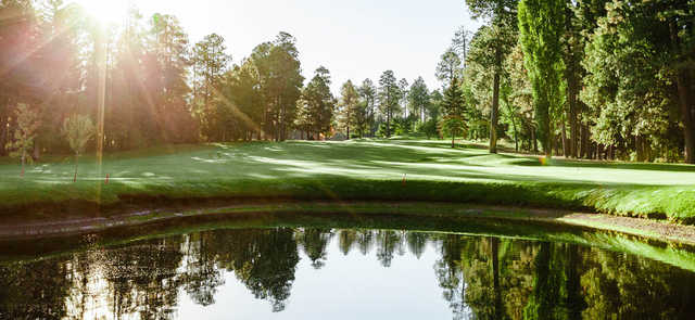 A view of a fairway at Pinetop Country Club.