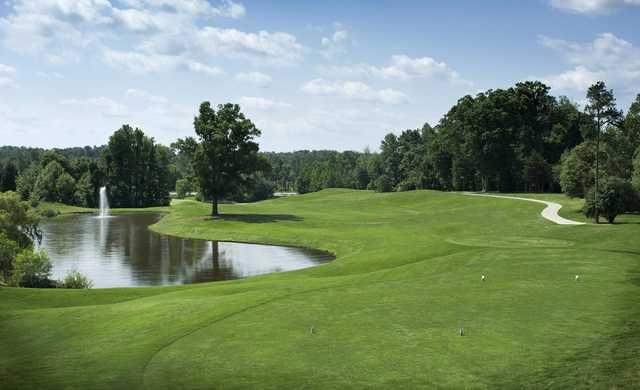 A view from the 1st tee at West from Grandover Resort