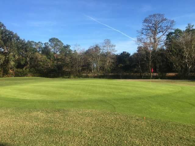 A view of a green at Rivard Golf & Country Club.