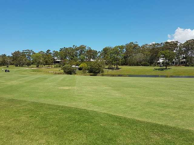 A view from Peregian Springs Golf Club