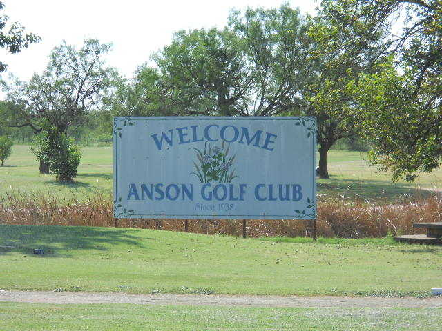 A sunny day view from Anson Golf Course.