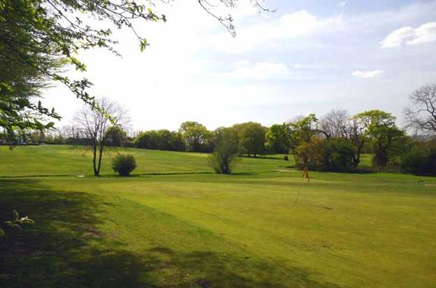 A view from the Yellow at High Beech Golf Course