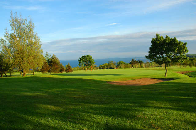 View of the 14th green at Whitehead Golf Club