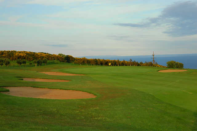 View of the 6th green at Whitehead Golf Club