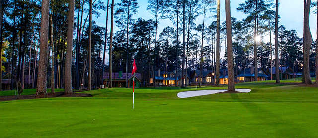 A view of a hole from The Playgrounds at Bluejack National.