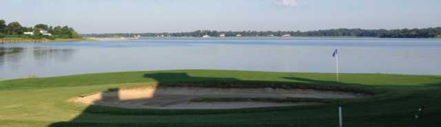 A view from Sleepy Hole Golf Course