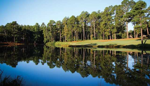 View of the 6th green at Longleaf Golf & Family Club