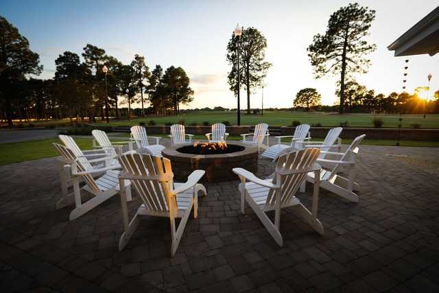 View from the patio at Longleaf Golf & Family Club