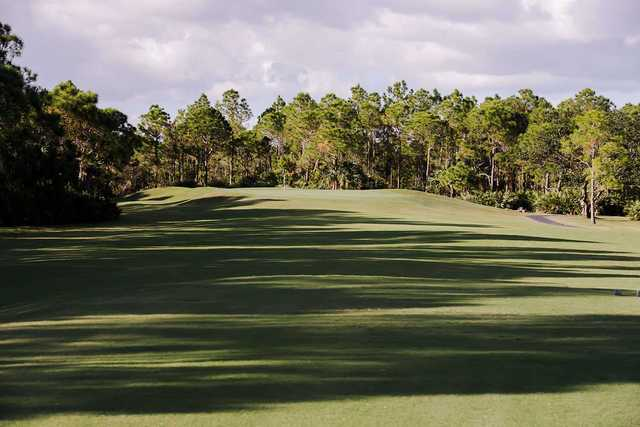 View of the 2nd green at Lost Lake Golf Club