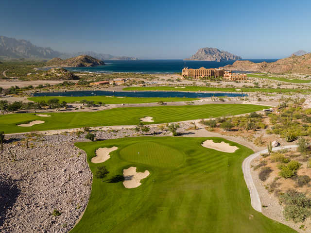View of the 8th hole at TPC Danzante Bay