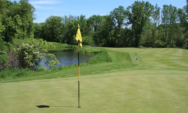 A view of the 13th hole at Aberdeen Course