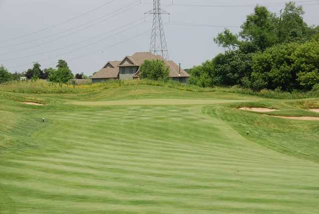 A view of green #7 from fairway at Aberdeen Course