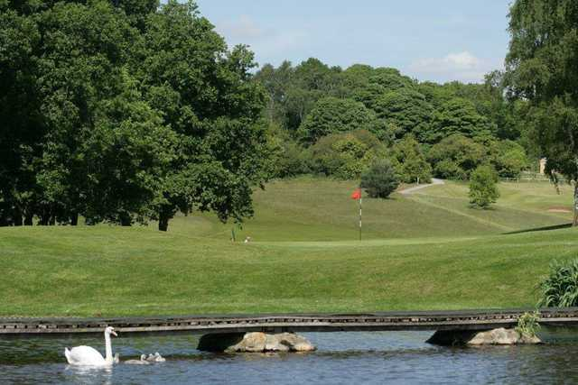 View of the 17th hole at Rufford Park Golf & Country Club