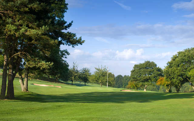 A view of hole #6 at Bath Golf Club.