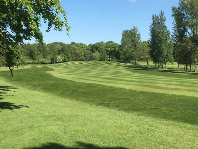 A view of a fairway at Drumpellier Golf Club.