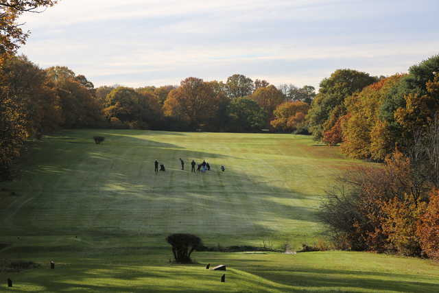 View of the 6th fairway at Woodford Golf Club