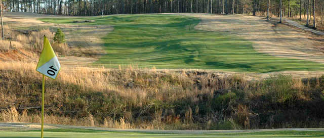 A view from green #10 at Coweta Club from Arbor Springs Plantation.