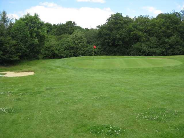 A view of a green at Metro Golf Centre.