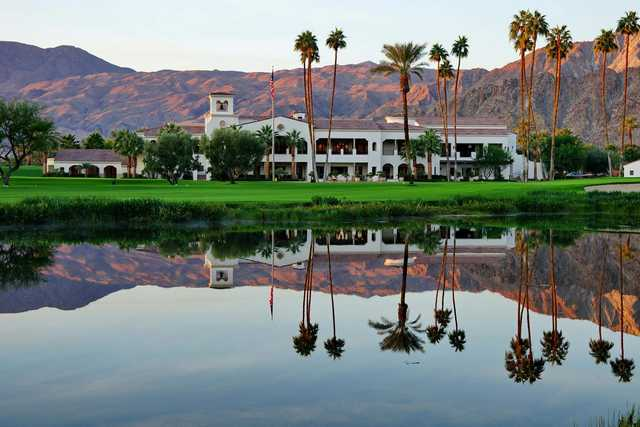 A view of the clubhouse at La Quinta Country Club.