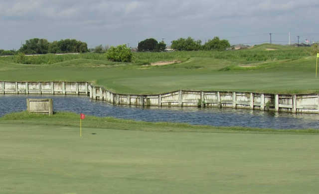 A view over the water from Los Lagos Golf Club.