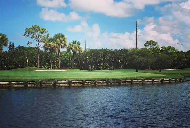 A view of a hole at Fountains Country Club.