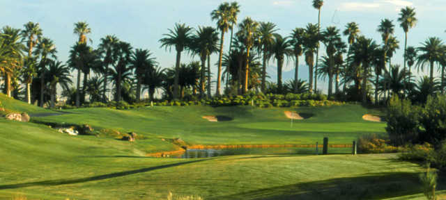 A view from Rhodes Ranch Country Club.