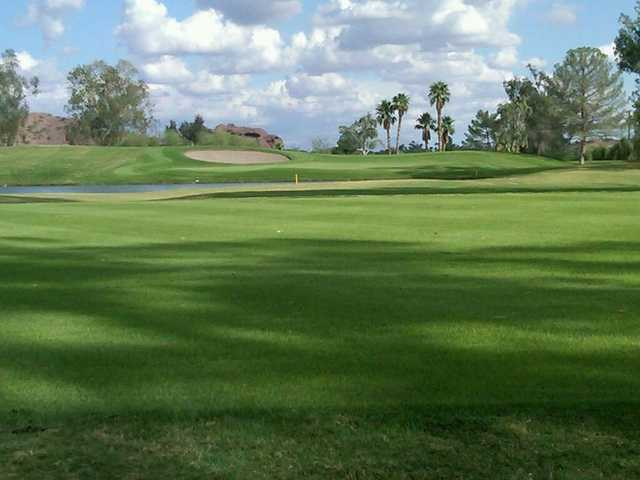 A view of green #11 at Papago Golf Course