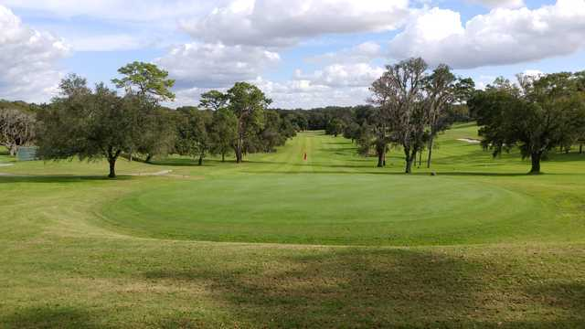 View of the 16th hole at Mount Dora Golf Club